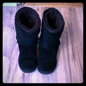 Tall classic black UGG boots